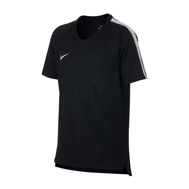 Nike Breathe Squad Top kurzarm Kids F011 - schwarz