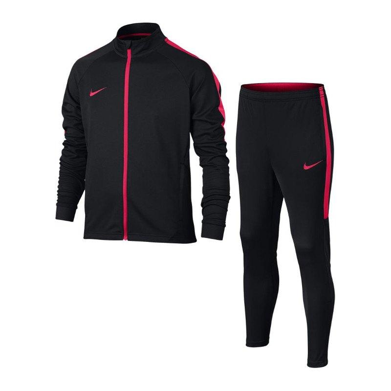 Nike Dry Academy Football Anzug Kids Schwarz F019 - schwarz
