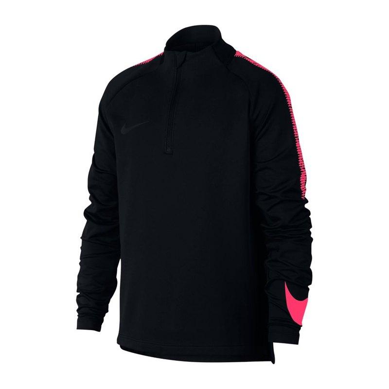Nike Dry Football Drill Top 1/4 Zip Kids F017 - schwarz
