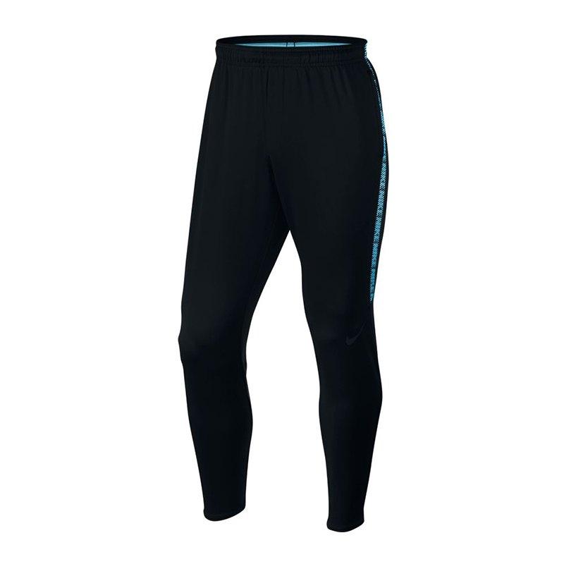 Nike Dry Squad Pant Hose lang Schwarz F016 - schwarz