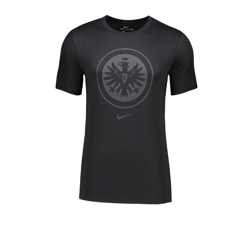 Nike Eintracht Frankfurt Crest T-Shirt F010 - schwarz