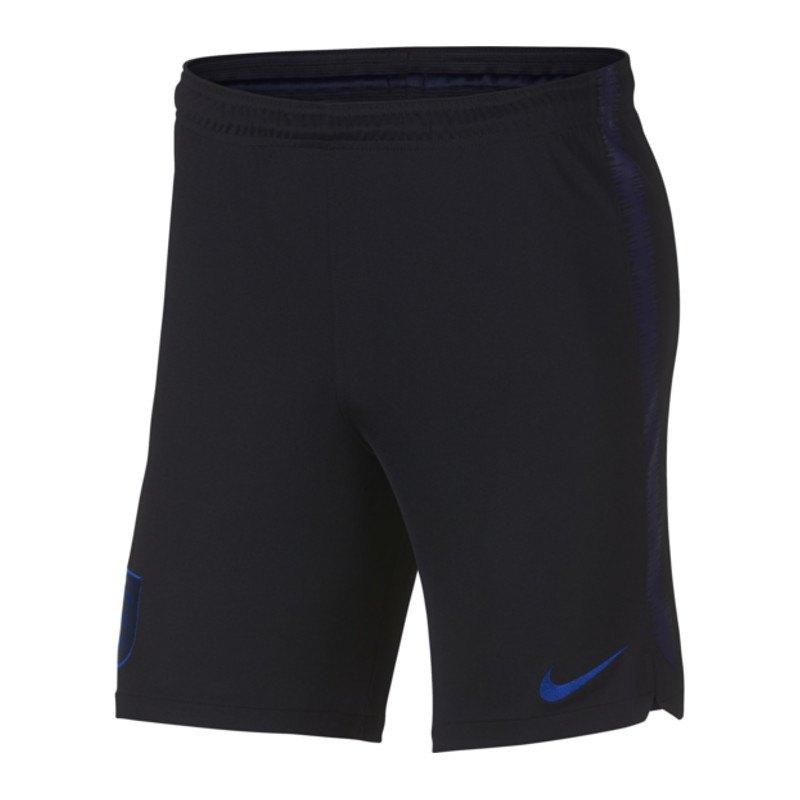 Nike England Dry Squad Short Schwarz F010 - schwarz