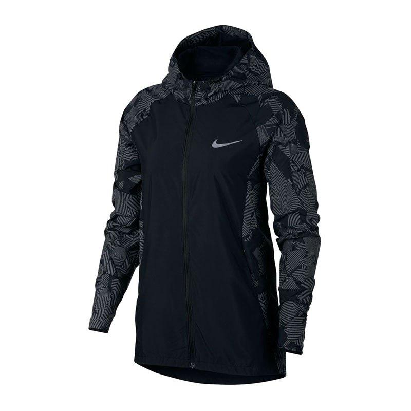 Nike City Flash Schwarz  Running Jacke