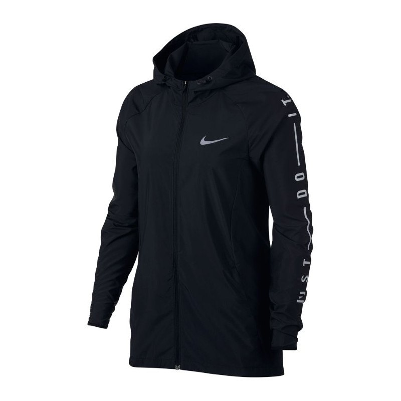F010 Damen Nike Jacke Laufen Sport Schwarz Running Essential wqxvxaA7