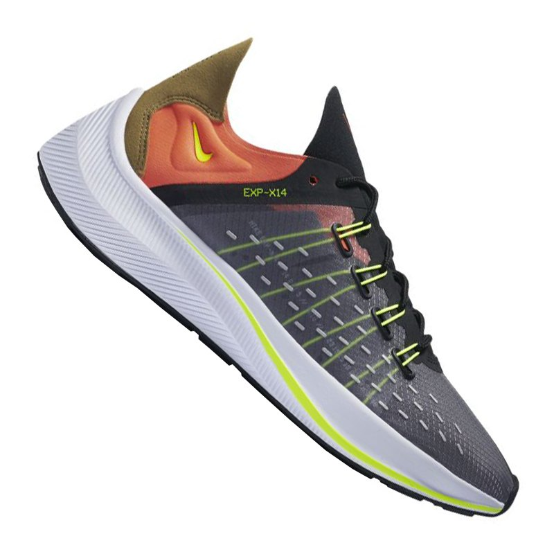 Nike EXP-X14 Racer Sneaker Schwarz F001 - schwarz