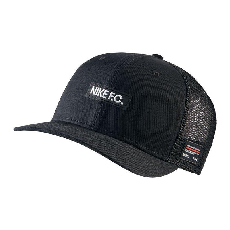 Nike F.C. Classic 99 Cap Kappe Schwarz F010 - schwarz