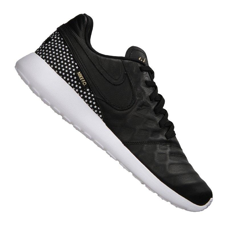 Nike F.C. Roshe Tiempo VI Sneaker Schwarz F002 - schwarz