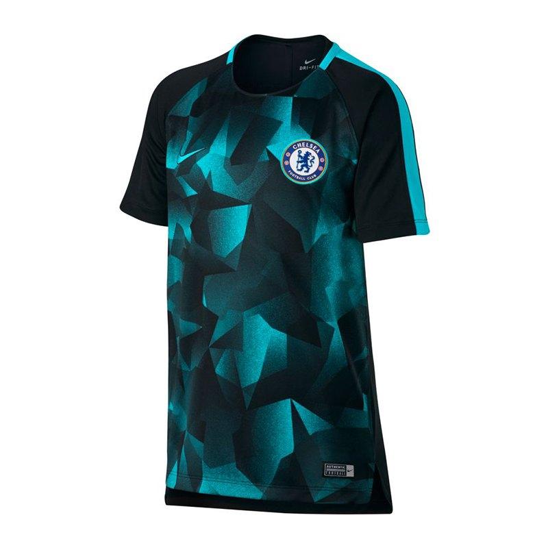 Nike FC Chelsea London Dry Squad Top T-Shirt F014 - schwarz