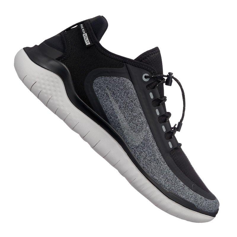 Nike Free 2018 Running Shield Schwarz F001 - schwarz
