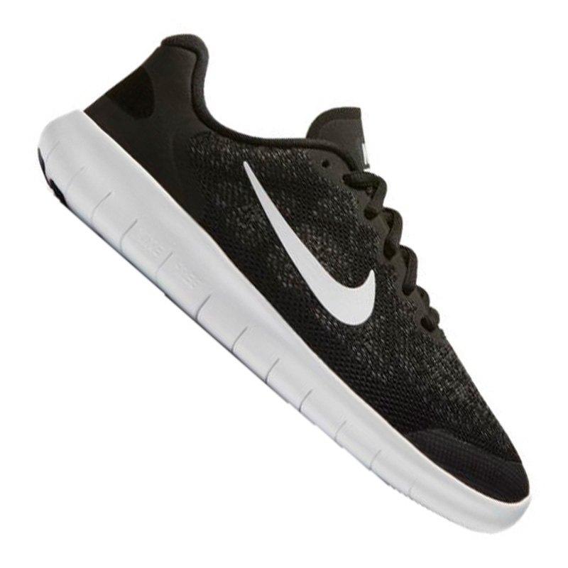 Nike Free RN 2 Running Kids Schwarz Weiss F002 - schwarz