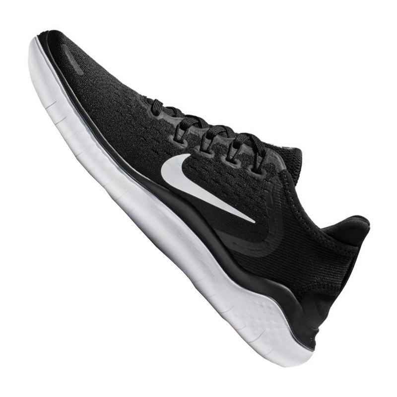 ... Nike Free RN 2018 Running Damen Schwarz Weiss F001 - schwarz ... 257a9491b7
