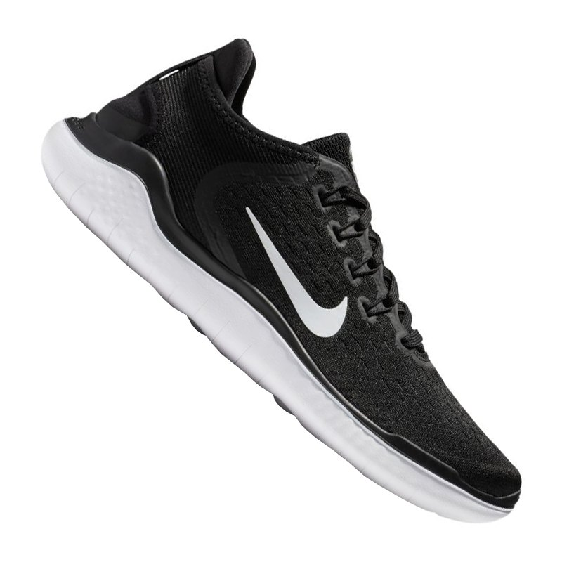 Nike Free RN 2018 Running Damen Schwarz Weiss F001   Equipment ... 4f266ae781