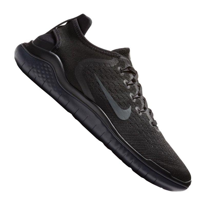 Nike Free RN 2018 Running Schwarz Grau F002 - schwarz