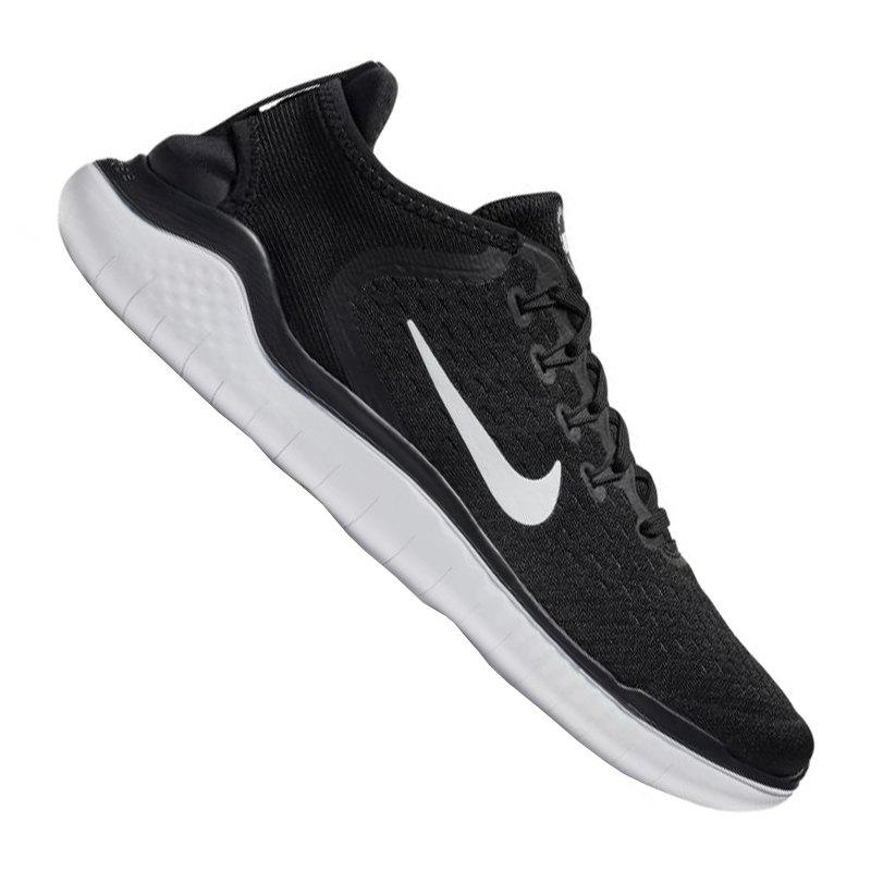 Nike Free RN 2018 Running Schwarz Weiss F001 - schwarz