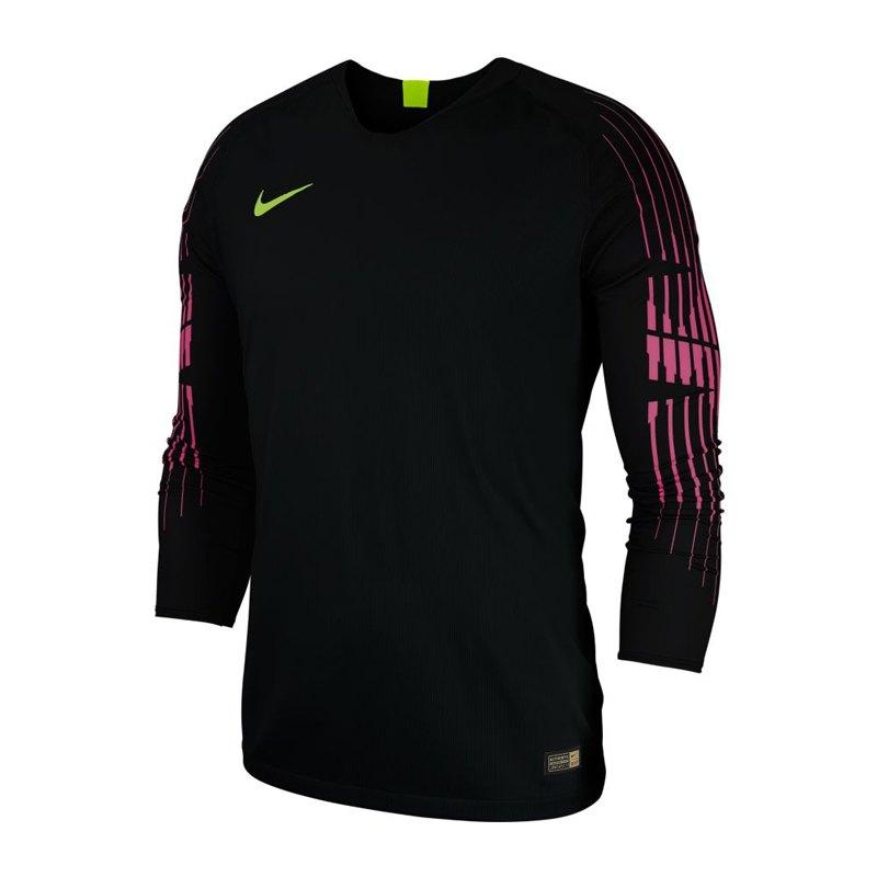 Nike Gardien II Torwarttrikot langarm Schwarz F010 - schwarz