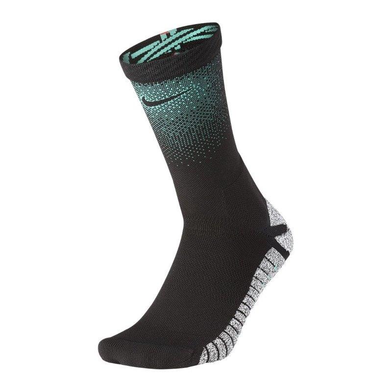 Nike Grip CR7 Crew Socken Schwarz Grün Rot F010 - schwarz
