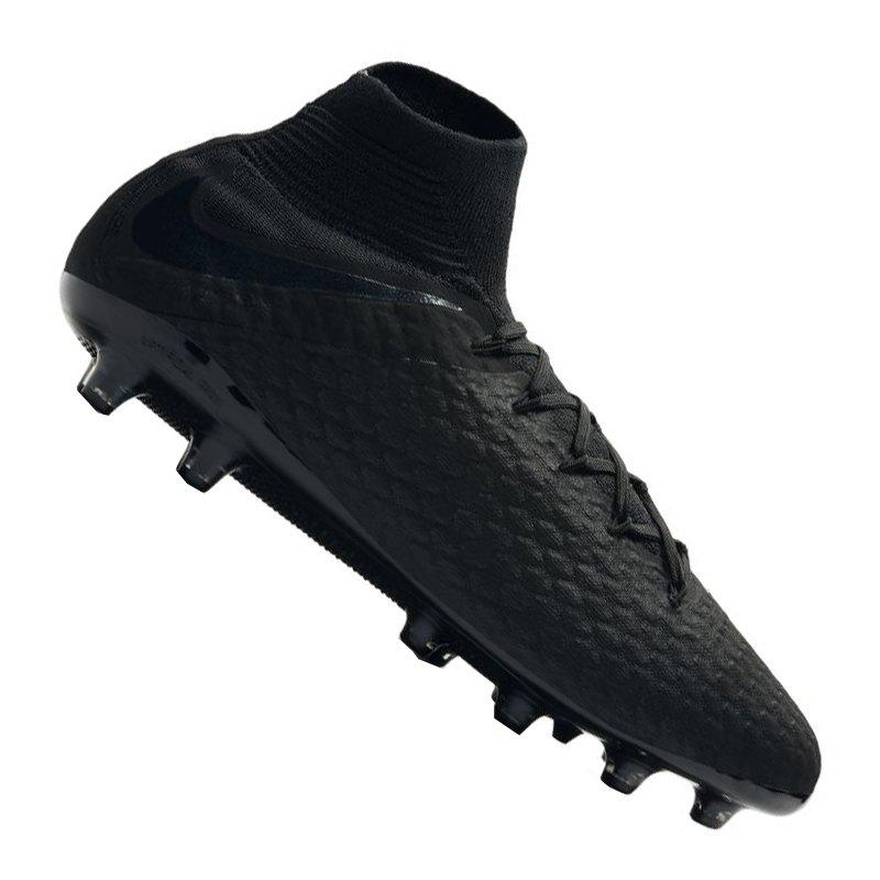 Nike Hypervenom Phantom III Pro DF AG-Pro F001 - schwarz