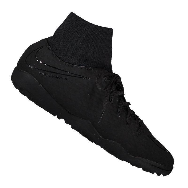 Nike Hypervenom Phelon III DF TF Schwarz F001 - schwarz