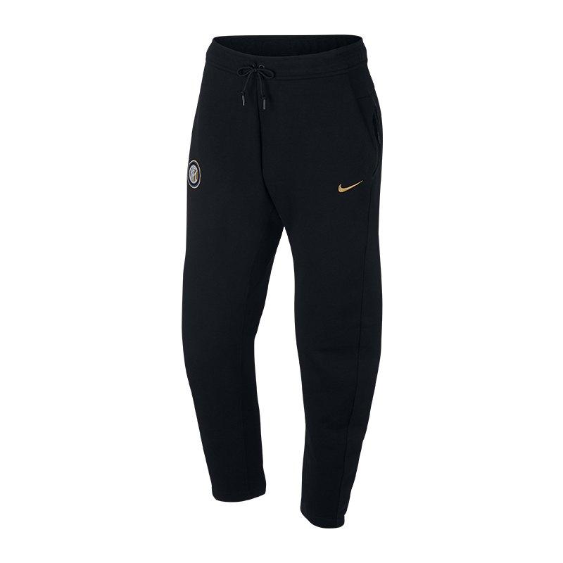 Nike Inter Mailand Tech Fleece Pant Schwarz F010 - schwarz