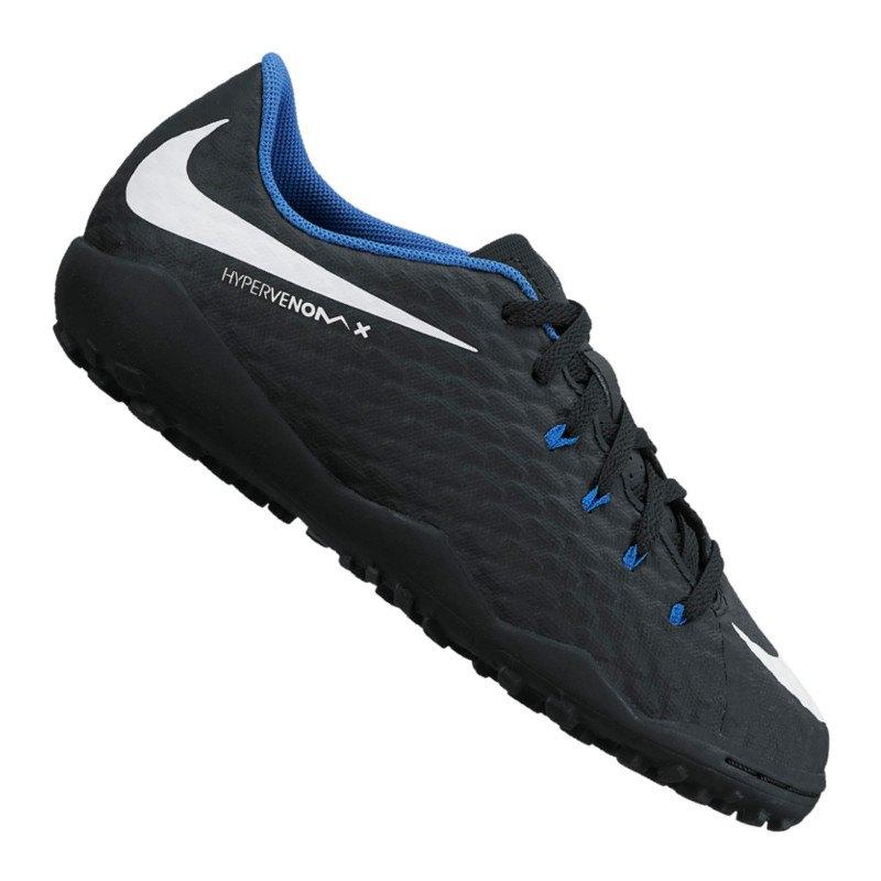 Nike Jr Hypervenom Phelon III TF Kids Schwarz F002 - schwarz