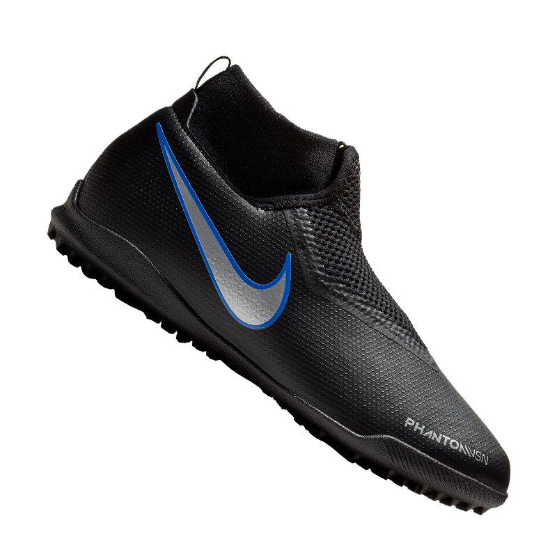 Nike Jr Phantom Vision Academy DF TF Kids SchwarzF004 - schwarz