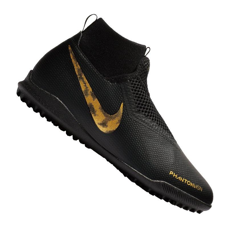 Nike Jr Phantom Vision Academy DF TF Kids F077 - schwarz