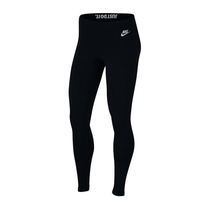 Nike Leg-A-See JDI Legging Damen Schwarz F010 - schwarz