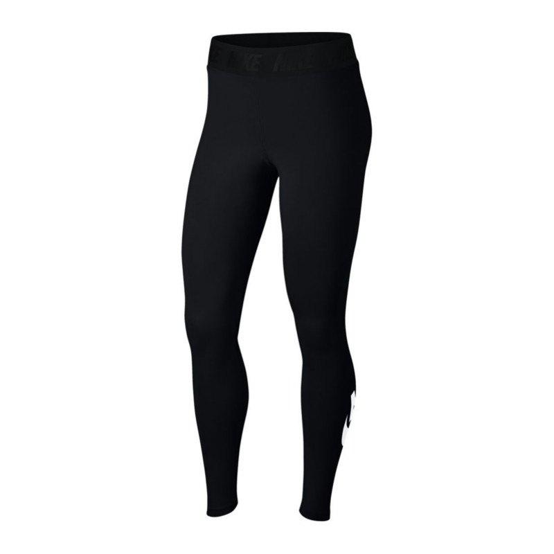 Nike Leg-A-See Legging Tight Damen Schwarz F010 - schwarz