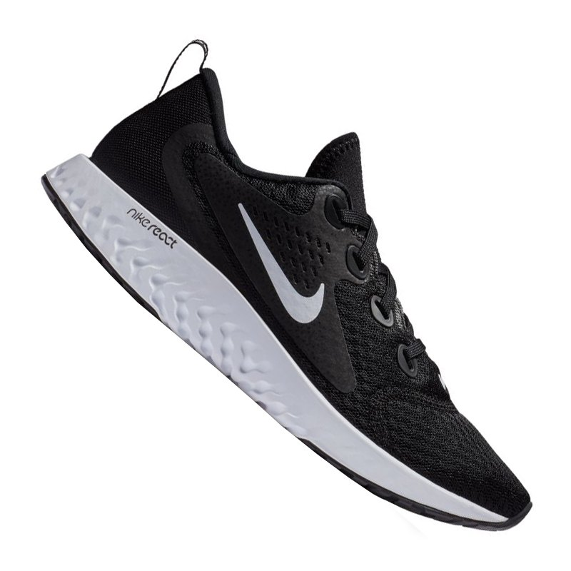 Nike Legend React Running Damen Schwarz F001 - schwarz