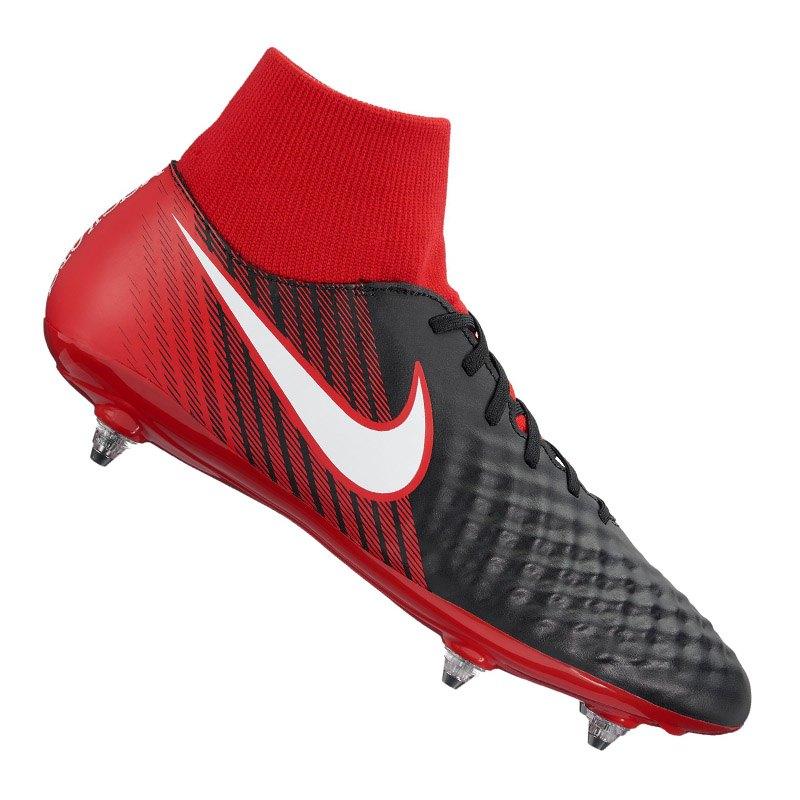 Nike Magista Onda II DF SG Schwarz Rot F061 - schwarz