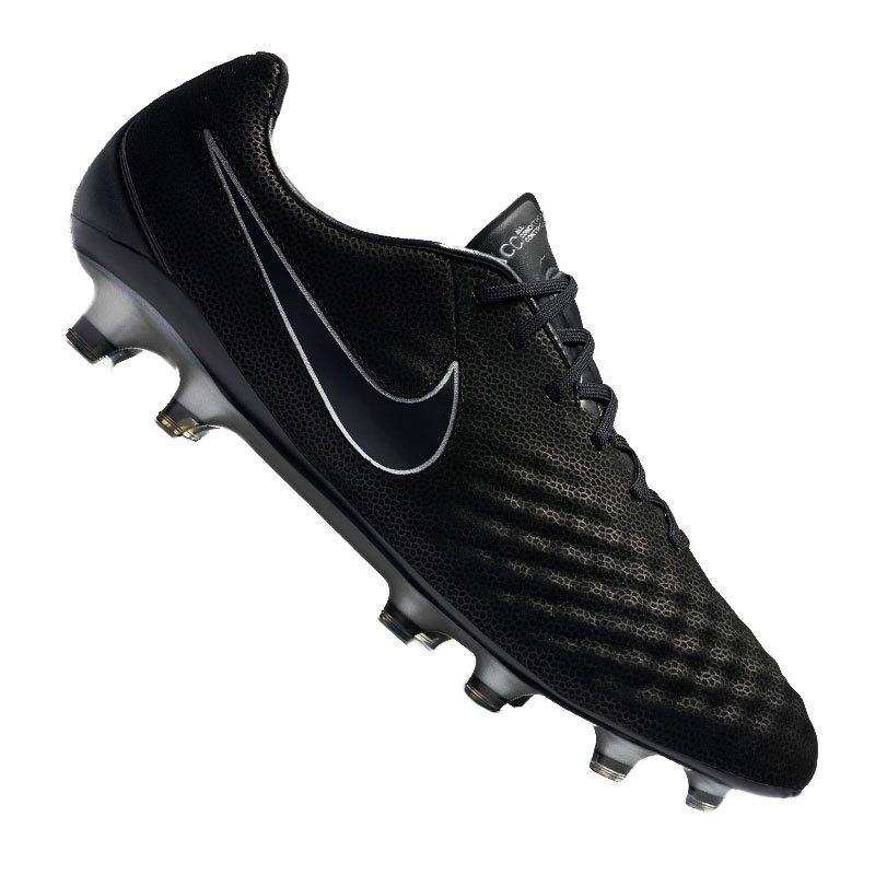 Nike Magista Opus II TC FG Schwarz F001 - schwarz