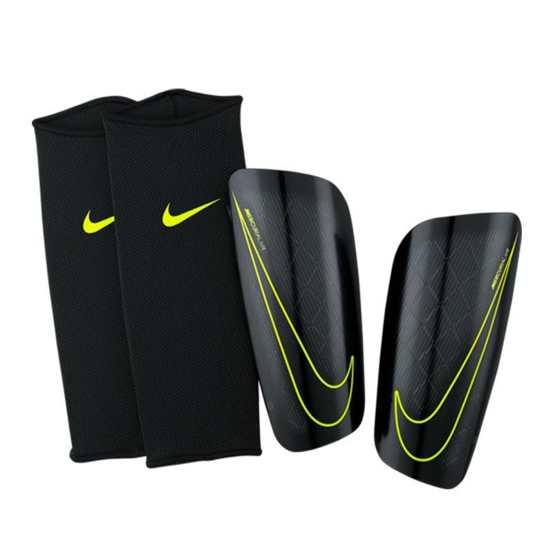 Nike Mercurial Lite Schienbeinschoner Schwarz Gelb F010 - schwarz