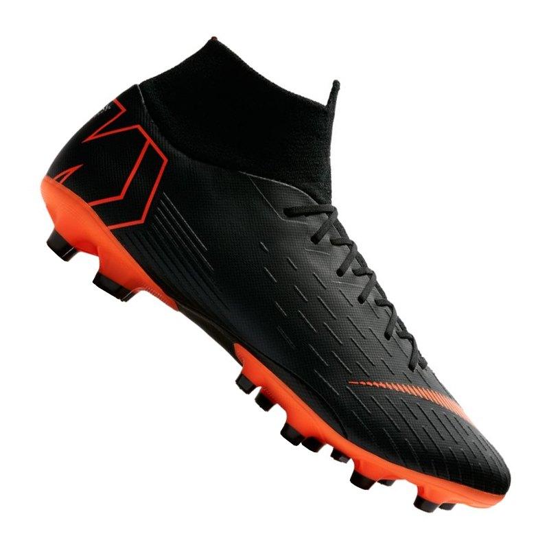 Nike Mercurial Superfly VI Pro AG-Pro Schwarz F081 - schwarz