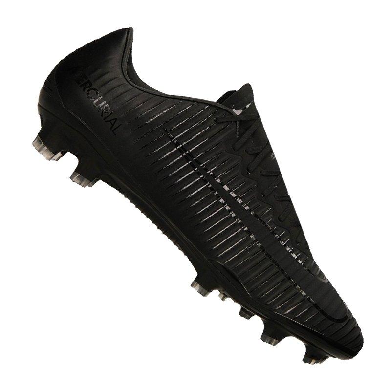 Nike Mercurial Vapor XI FG Schwarz F001 - schwarz
