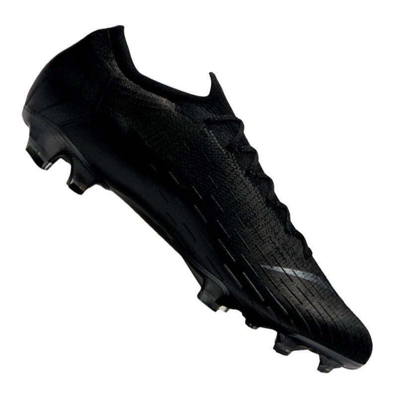 Nike Mercurial Vapor XII Elite FG Schwarz F001 - schwarz