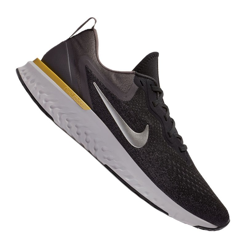Nike Odyssey React Running Schwarz Weiss F001 - schwarz