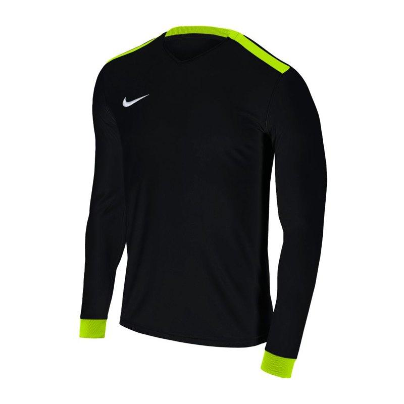 Nike Park Derby II Trikot langarm Schwarz F010 - schwarz