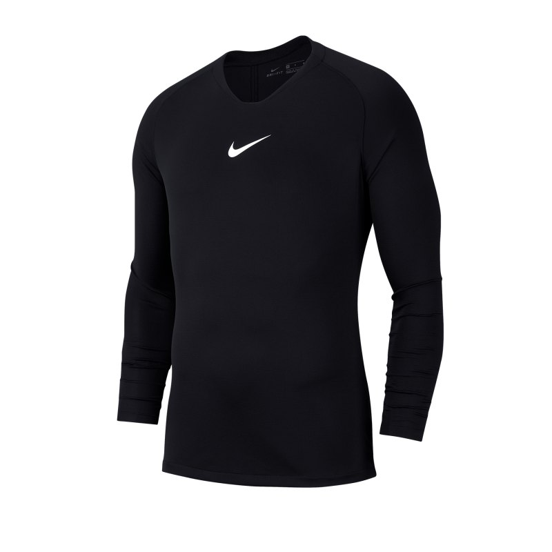 Nike Park First Layer Top langarm Kids F010 - schwarz