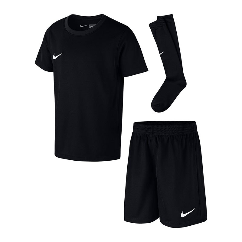 Nike Park Minikit Trikotset Kids Schwarz F010 - schwarz