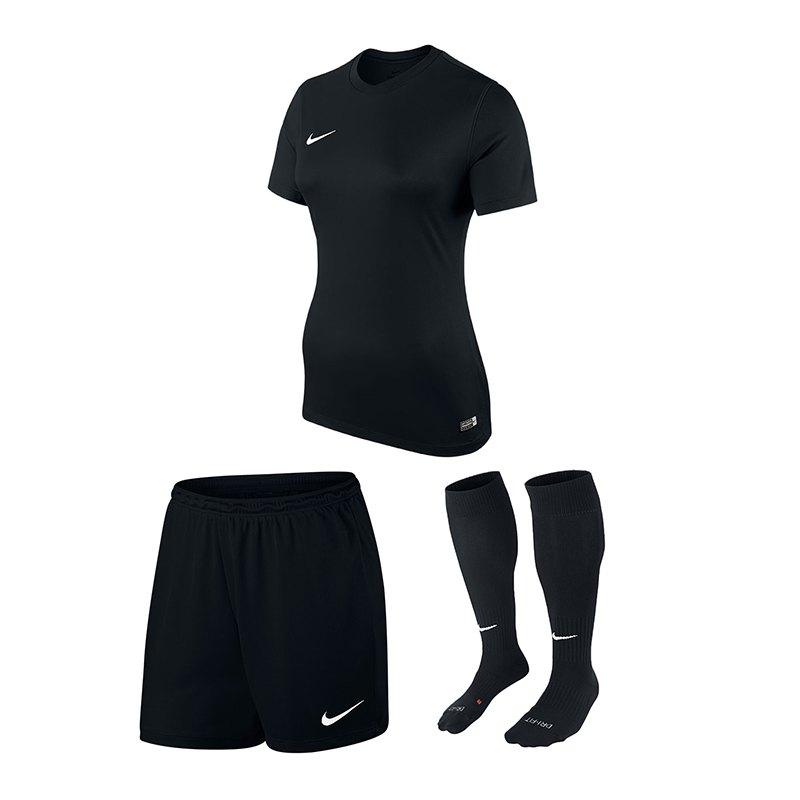 Nike Park VI Trikotset Damen Schwarz F010 - schwarz