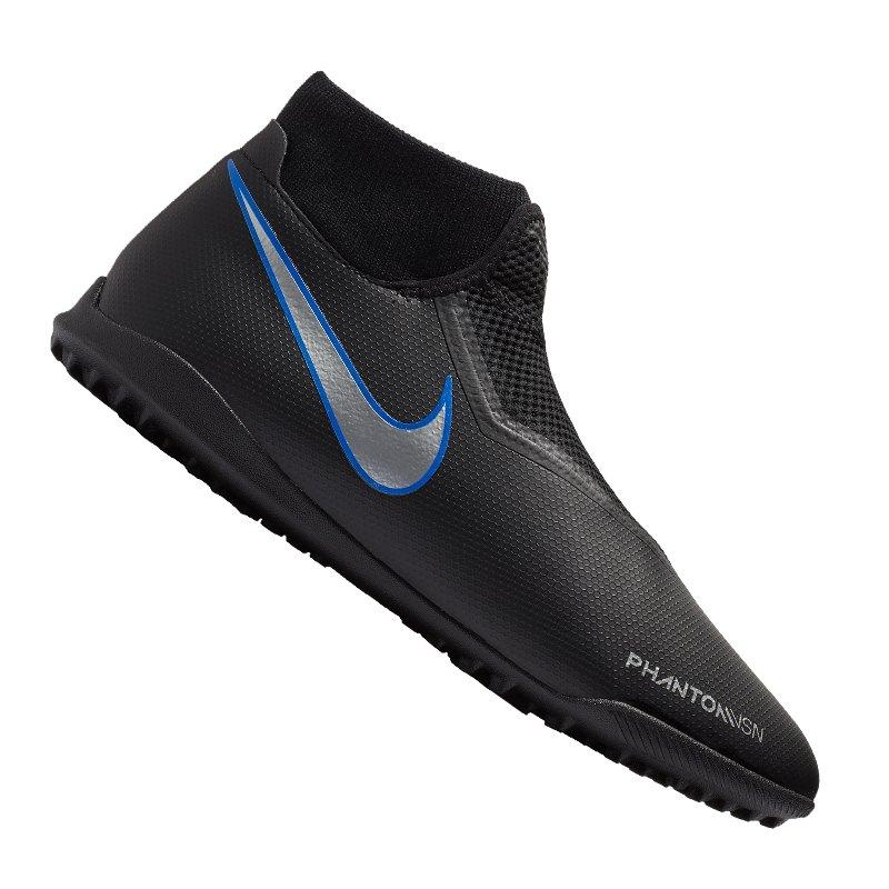 Nike Phantom Vision Academy DF TF Schwarz F004 - schwarz