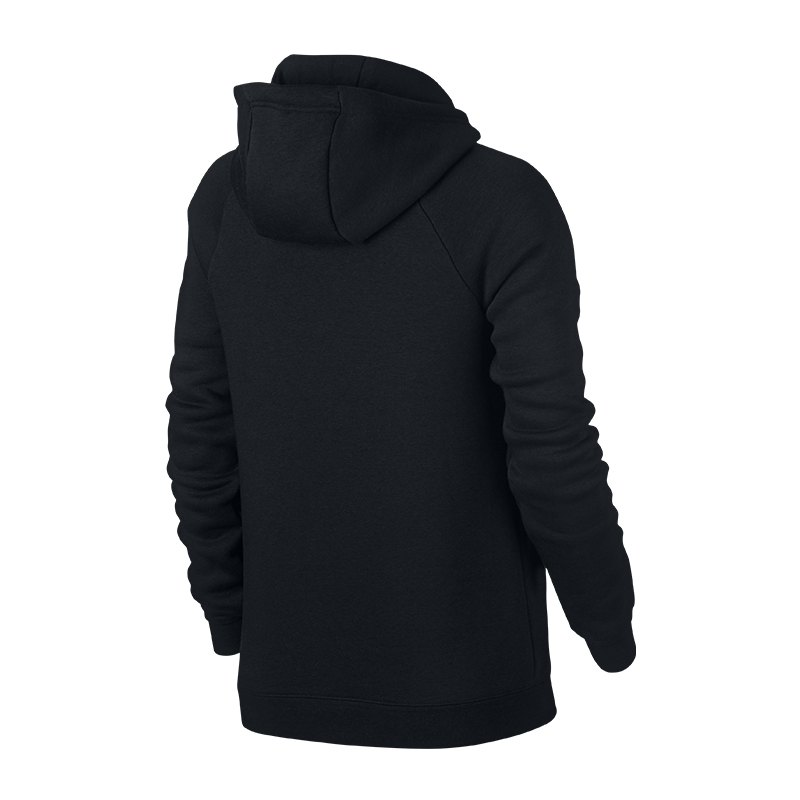 nike rally hoody damen schwarz weiss f010 lifestyle. Black Bedroom Furniture Sets. Home Design Ideas