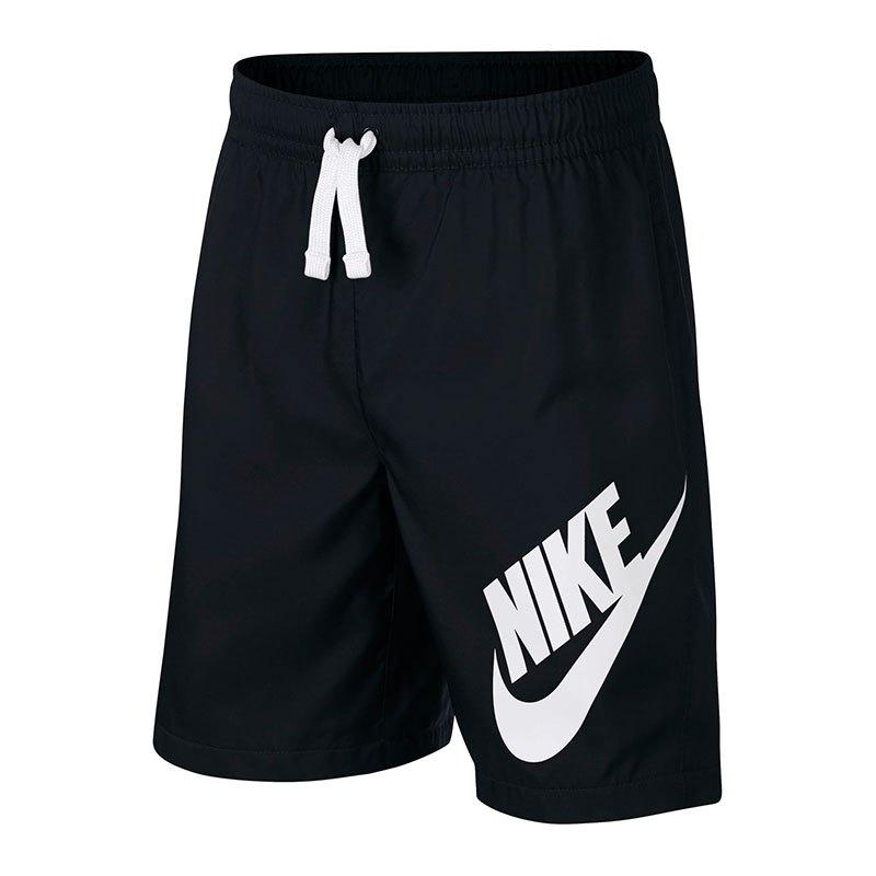 Nike Short Hose kurz Kids Schwarz Weiss F011 - schwarz