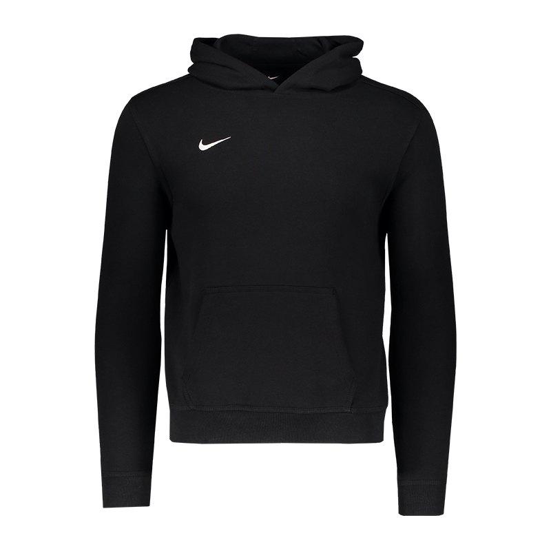 Nike Team Club Hoody Kids Schwarz F010 - schwarz