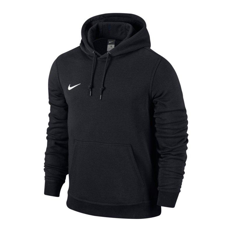 Nike Team Club Hoody Sweatshirt Schwarz F010 - schwarz