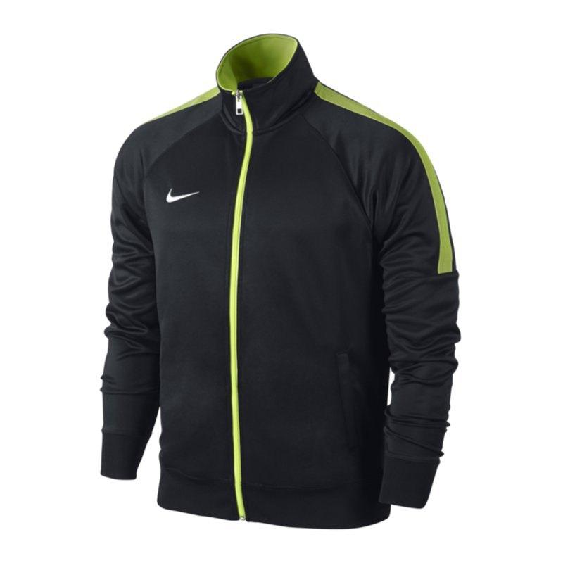 Nike Team Club Trainer Jacke Kids Schwarz F011 - schwarz