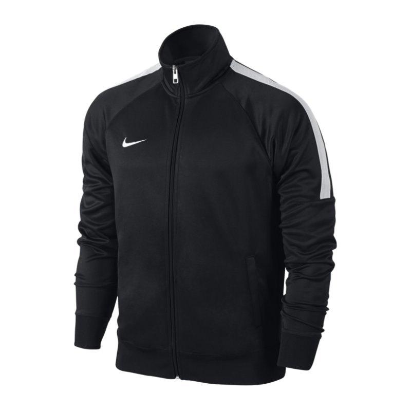 Nike Team Club Trainer Jacket Jacke Schwarz F010 - schwarz