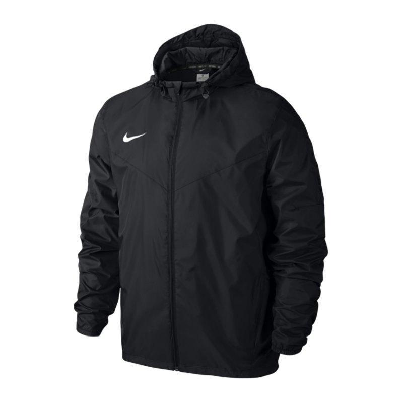 Nike Team Sideline Rain Jacket Regenjacke F010 - schwarz