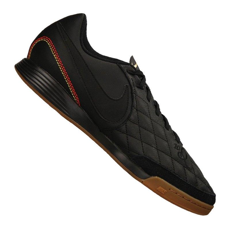 Nike Tiempo X Ligera IV 10R IC Schwarz F007 - schwarz