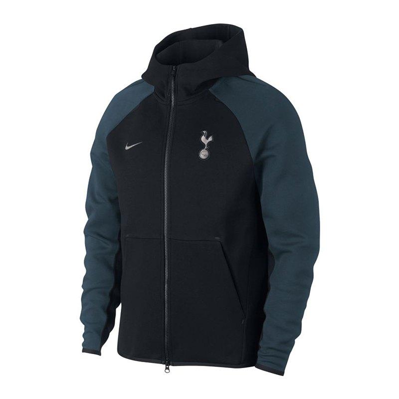 Nike Tottenham Hotspur Tech Fleece Jacke F010 - schwarz